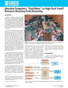 Fact sheet USGS - Resouce recovery